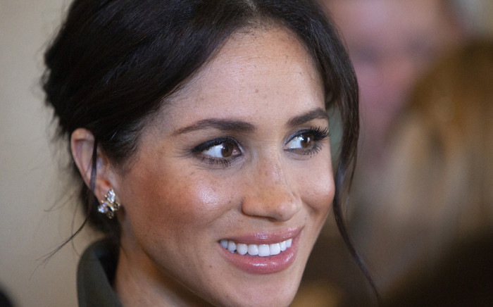 Meghan, Duchess of Sussex, smiles during a reception hosted by the Governor General at Admiralty House in Sydney on 16 October 2018. Picture: Steve Christo/POOL/AFP