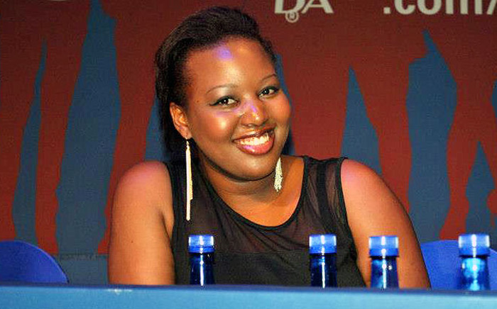DA's Mbali Ntuli. Picture: Official Mbali Ntuli Facebook page.