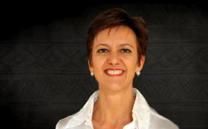 A screengrab shows SABC CFO Yolande van Biljon. Picture: SABC Digital News/youtube.com