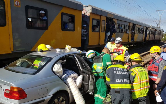 Emergency officials are on the scene. Picture: Twitter/@ER24EMS