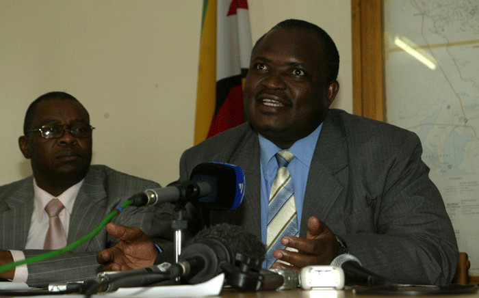 FILE: Zimbabwean Minister of Health Henry Madzorera speaks during a press conference in the Kuwadzana township, on January 31, 2012 in Harare. Picture: AFP.