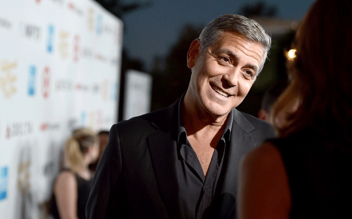 "George Clooney attends the MPTF 95th anniversary celebration with ""Hollywood's Night Under The Stars"" at MPTF Wasserman Campus on 1 October 2016 in Los Angeles, California. Picture: AFP."