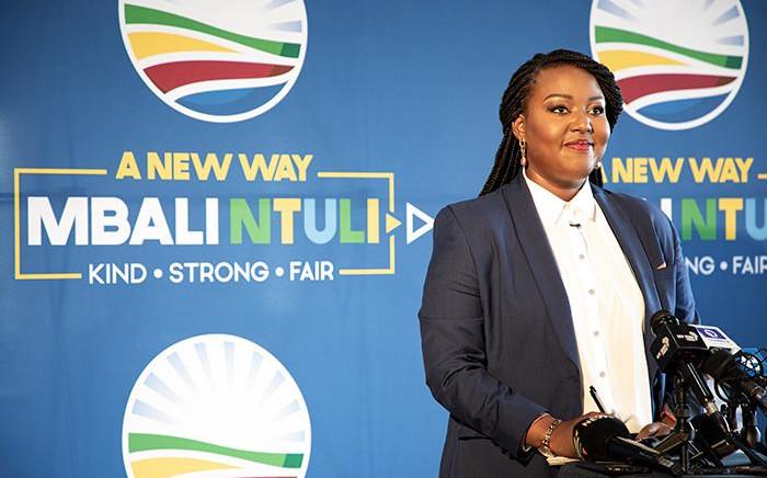 FILE: Mbali Ntuli of the Democratic Alliance. Picture: Xanderleigh Dookey/EWN
