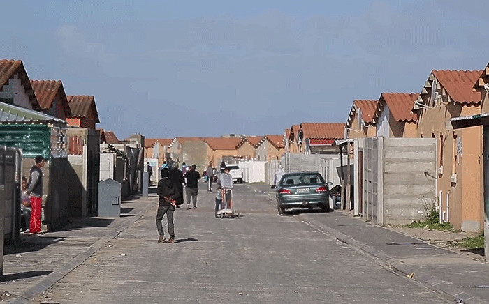 A view of the homes in Hyde Park, Mitchells Plain. Picture: EWN.