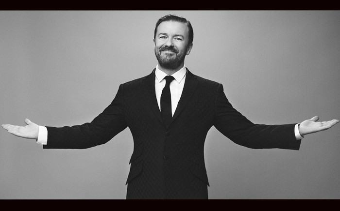 FILE: Comedian Ricky Gervais. Picture: Twitter.