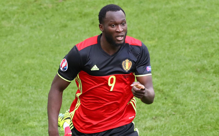 A fee has been agreed with Everton for the transfer of Romelu Lukaku to Manchester United. Picture: Twitter @ManUtd.