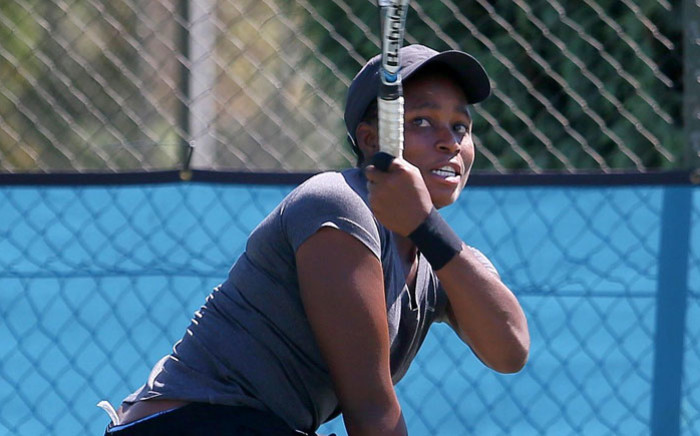 FILE: South African wheelchair tennis player Kgothatso Montjane. Picture: Reg Caldecott