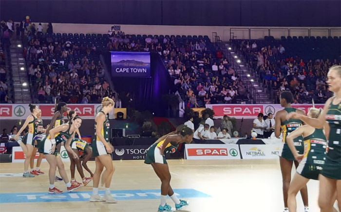 South Africa is hosting England in the International Netball Test Series. Picture: Ayanda Felem/EWN.