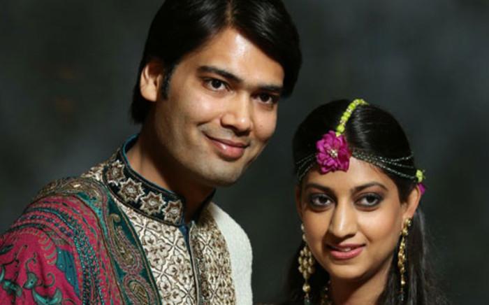 Aakash Jahajgarhia and Vega Gupta shortly before their wedding. Picture: Gupta family