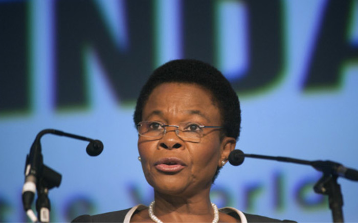 Minister Susan Shabangu said the NDP target of at least 5% economic growth remains within reach. Picture: AFP.
