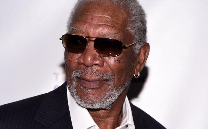 FILE: US actor Morgan Freeman. Picture: AFP.