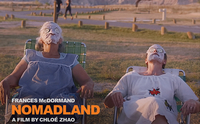 FILE: A 'Nomadland' movie poster. Picture: @nomadlandfilm/Twitter.