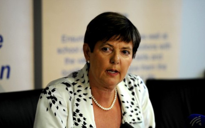 FILE: Gauteng Finance MEC Barbara Creecy. Picture: Sapa.