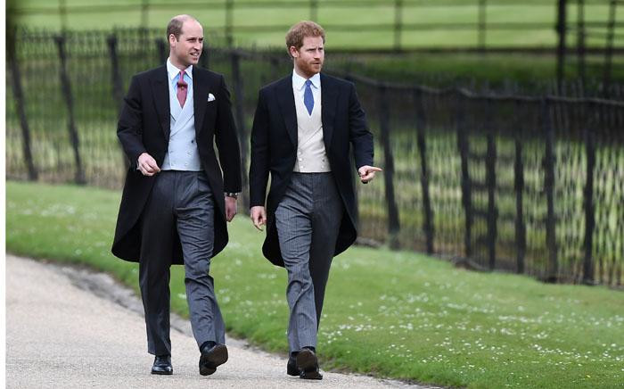 FILE: Britain's Prince William and Prince Harry. Picture: AFP.