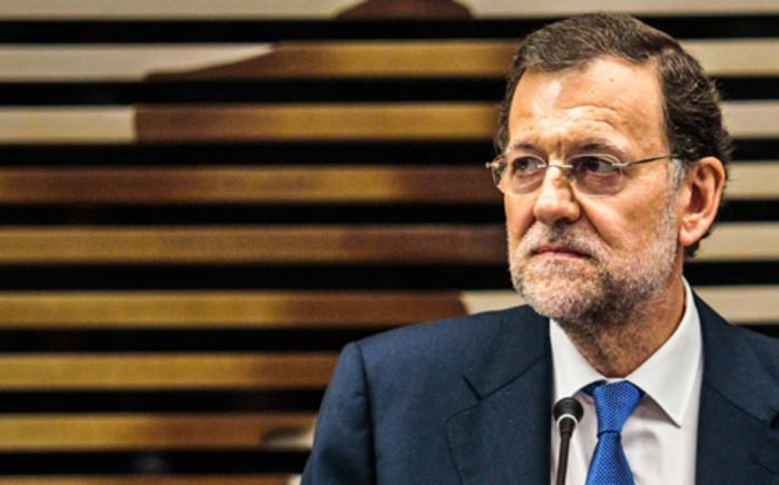 Spanish Prime Minister Mariano Rajoy. Picture: Vanessa Carvalho/Brazil Photo Press/AFP