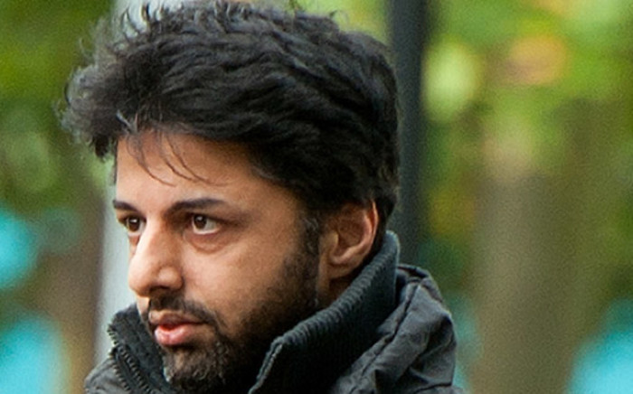 Shrien Dewani arrives at Belmarsh Magistrates' Court sitting at Woolwich Crown Court in south London, on 10 August, 2011. Picture: AFP.