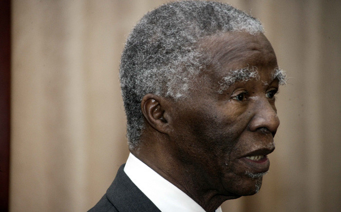 FILE: Former South African President Thabo Mbeki in August 2015. Picture: AFP.