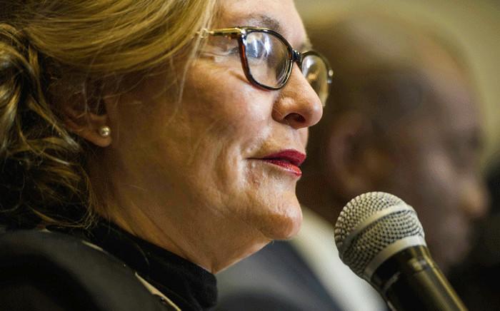 FILE: Former Western Cape Premier Helen Zille. Picture: AFP.