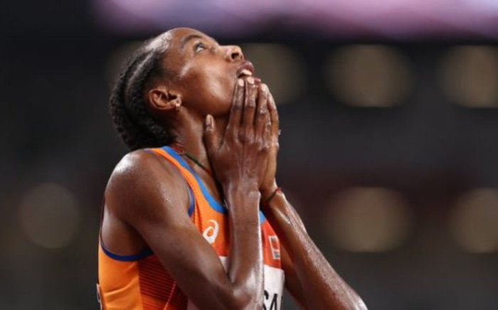 Dutch runner Sifan Hassan. Picture: @AthleticsWeekly/Twitter.