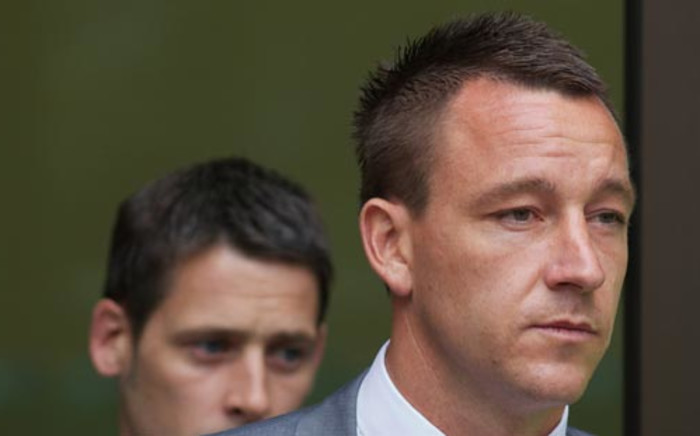 Chelsea's John Terry was banned for four matches and fined £220,000 for racially abusing Queens Park Rangers defender Anton Ferdinand in 2011. Picture: AFP