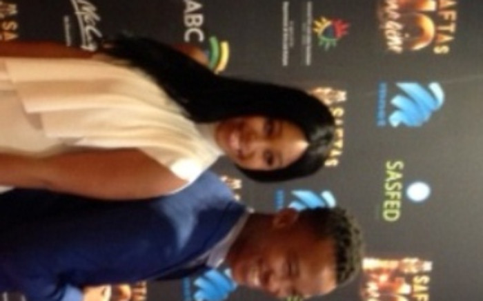 FILE: The hosts for the 10th South African Film & Televsion Awards, Minnie Dlamini and Katlego Maboe. Picture: Neo Koza/ EWN