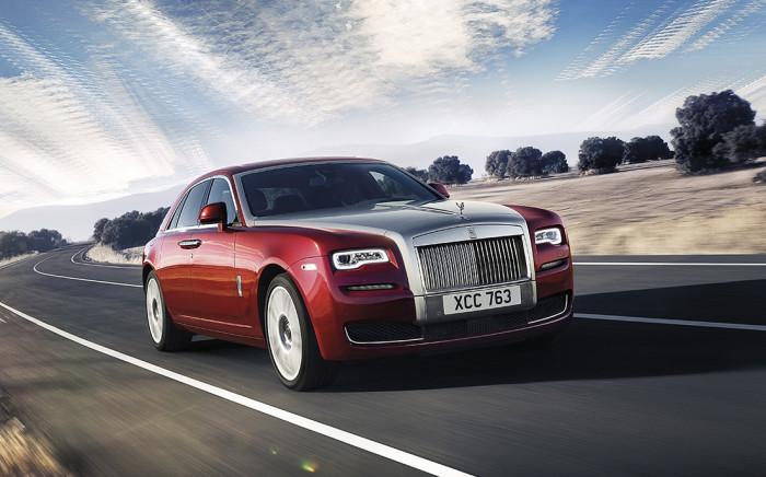 The new Rolls Royce Ghost.  Picture: rollsroyce.com