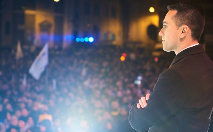 5-Star leader Luigi Di Maio. Picture: @luigidimaio/Twitter.