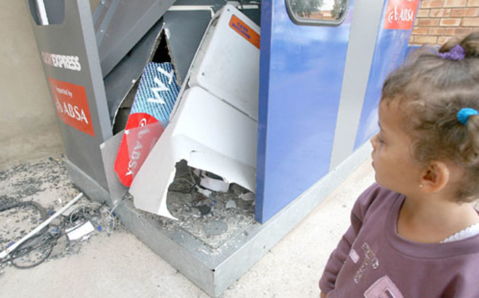 The Hawks in the past week arrested 11 men in connection with a spate of ATM bombings in KZN. Picture: SAPA