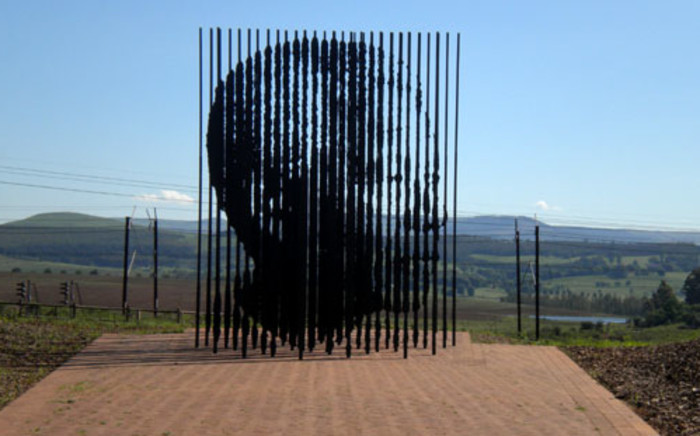 The Nelson Mandela Capture Site Monument near Howick in the KZN Midlands. Picture: Dori van Loggerenberg/EWN.