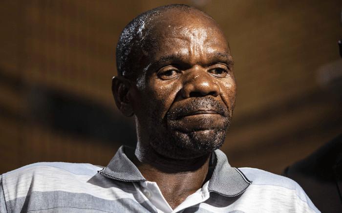 Sakie Dingake, father of 16-year-old Mathlomola Moshoeu who was killed by two Coligny men Pieter Doorewaard and Philip Schutte. Picture: Abigail Javier/EWN.