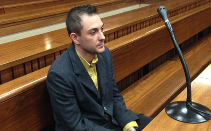 Christiaan Oldewage inside North Gauteng High Court in Pretoria on 5 December 2013. Picture: Mia Lindeque/EWN.