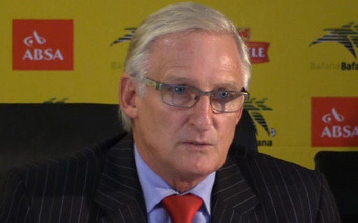 Gordon Igesund will today find out if Safa will extend his contract as Bafana coach. Picture: Christa Eybers/EWN