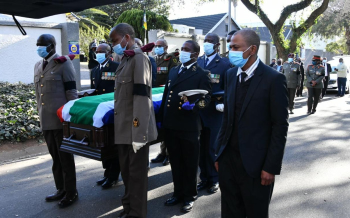 Funeral of the late struggle stalwart John Nkadimeng on Friday, 14 August 2020. Picture: GCIS/Twitter