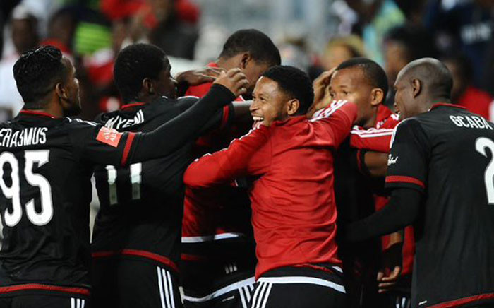 Orlando Pirates emerge victorious over Kaizer Chiefs on 31 October, 2015. Pirates beat Chiefs 3-1. Picture: Twitter @adidasZA.