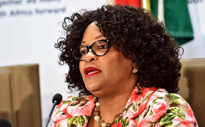 FILE Environmental Affairs Minister Nomvula Mokonyane. Picture: GCIS