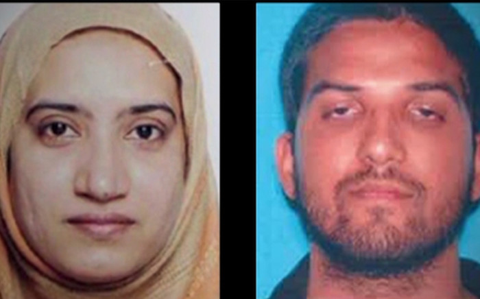 Isis claims the shooters behind Wednesday's deadly attack in California were supporters of the terrorist group. Picture: Screengrab/CNN
