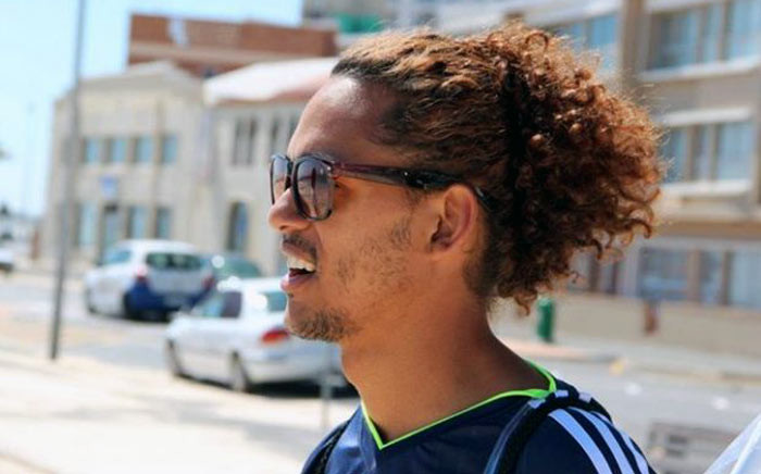 Darren August (27) was stabbed multiple times and fractured his spine while trying to protect train passengers from being robbed in Cape Town. Picture: Facebook.