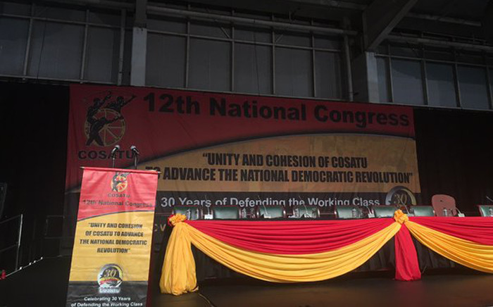 FILE: The Congress of South African Trade Unions' (Cosatu) national congress. Picture: EWN