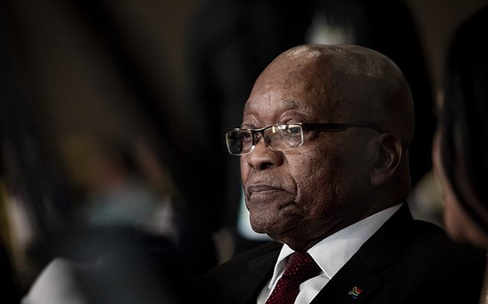 FILE: Former President Jacob Zuma at the ANC 107 gala dinner at the Durban ICC on 11 January 2019. Picture: Sethembiso Zulu/EWN