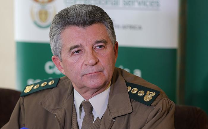 Acting Correctional Services Commissioner James Smalberger.  Picture: Christa Eybers/EWN