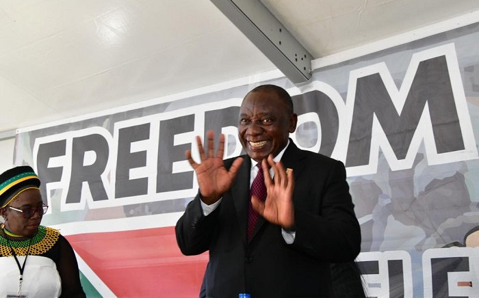 President Cyril Ramaphosa celebrates Freedom Day in Makhanda, Eastern Cape. Picture: SA Government.