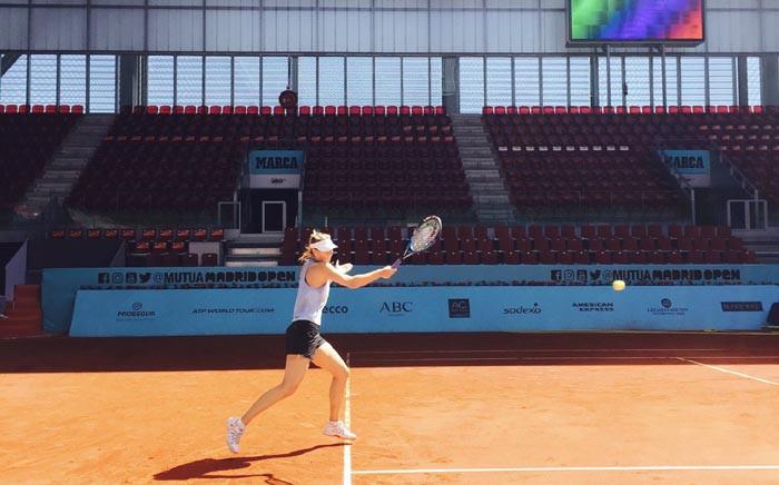 Former world number one Maria Sharapova. Picture: Twitter/@MariaSharapova