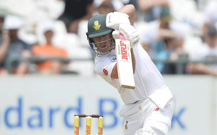 FILE: Proteas batsman AB de Villiers pictured on 15 January 2018 during day three of the second Test against India. Picture: @OfficialCSA/Twitter