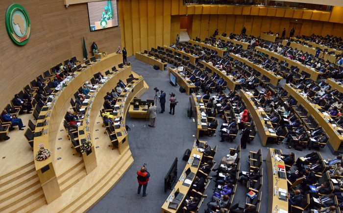 A view of African dignitaries at the 28th AU summit underway at the African Union headquarters in Ethiopia. Picture: GCIS.