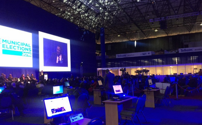 FILE: IEC's National Results Operations Centre in Tshwane. Picture Gia Nicolaides/EWN.