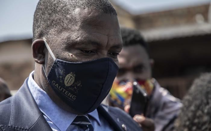 FILE: Gauteng Education MEC Panyaza Lesufi. Picture: Abigail Javier/Eyewitness News.
