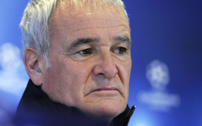Former Leicester City manager Claudio Ranieri. Picture: AFP