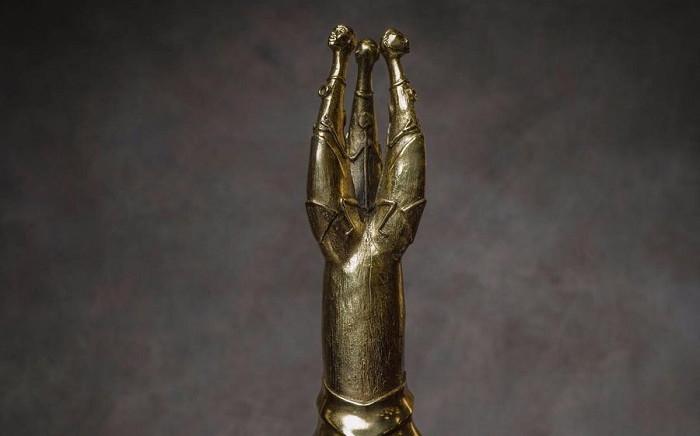 Safta Golden Horn award. Picture: @PhilaMadlingozi/Twitter
