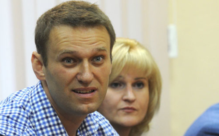 Russia's top opposition leader Alexei Navalny was sentenced to five years in prison in Kirov on 18 July 2013. Picture: AFP