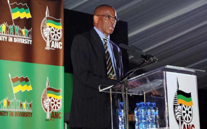 Senior ANC member Ace Magashule. Picture: SAPA